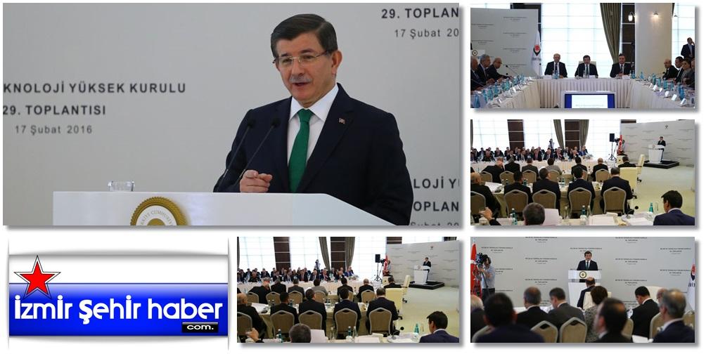 Başbakan Davutoğlu Bilim ve Teknoloji Yüksek Kurulu Toplantısı -V76-9