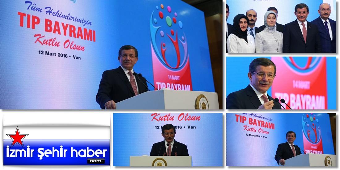 Başbakan Ahmet Davutoğlu, Van'da Tıp Bayramı etkinliğinde konuştu -97