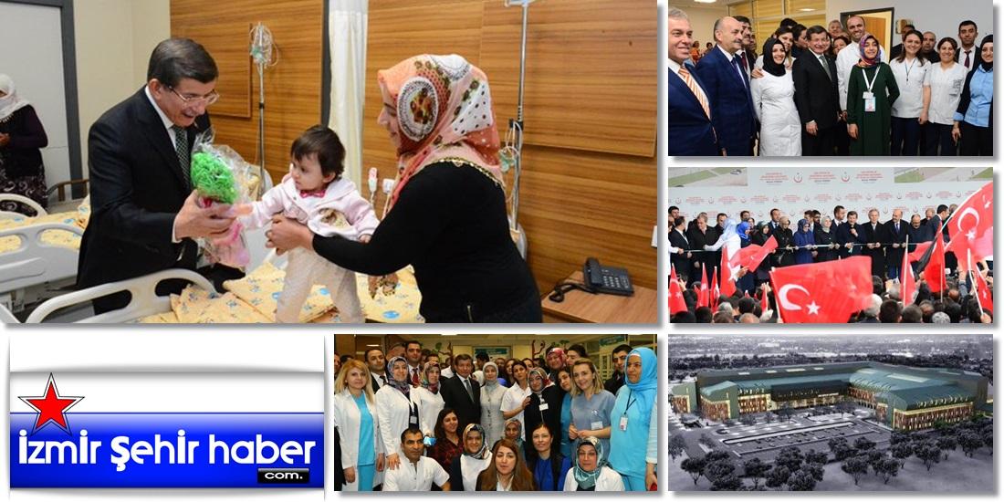 Başbakan Ahmet Davutoğlu, Van'da hasta çocukları ziyaret etti  - VAN - HABER ,GAZETE (10)