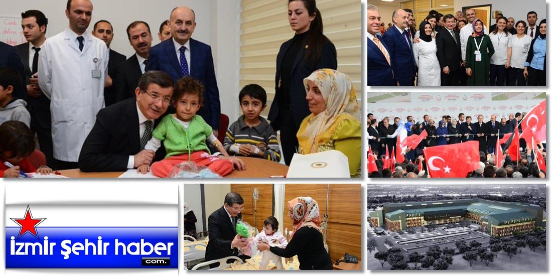Başbakan Ahmet Davutoğlu, Van'da hasta çocukları ziyaret etti  - VAN - HABER ,GAZETE (6)