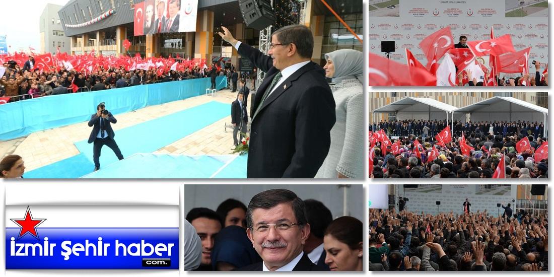 Başbakan Ahmet Davutoğlu, Van merkezde 500 yataklı Kadın Doğum ve Çocuk Hastanesi Açılışı - VAN - SON DAKİKA (17)