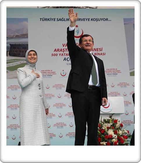 Başbakan Ahmet Davutoğlu, Van merkezde 500 yataklı Kadın Doğum ve Çocuk Hastanesi Açılışı - VAN - SON DAKİKA (18)