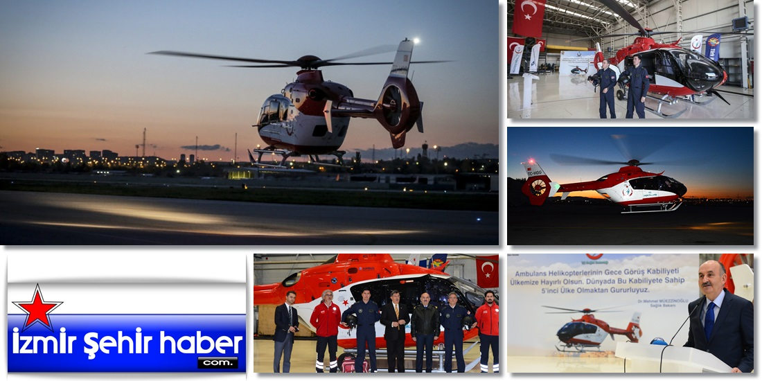 Gece Görüşlü Ambulans Helikopterler  -TÜRKİYE  (19)1